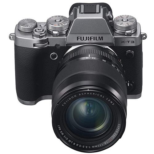 Fujifilm X-T3 fronte