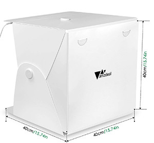Amzdeal Tenda Studio Fotografico Light Box