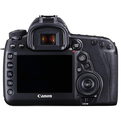 canon eos 5d mark iv display