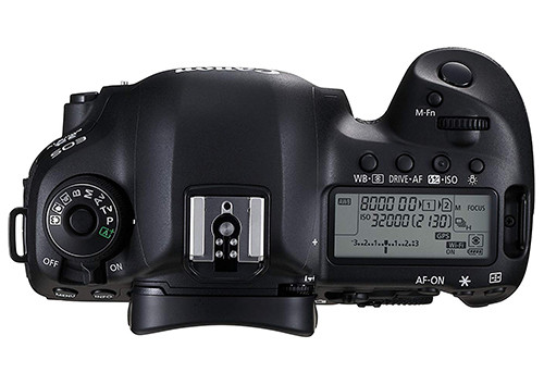canon eos 5d mark iv top