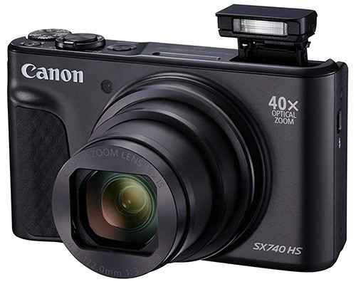 Canon PowerShot SX740 HS flash