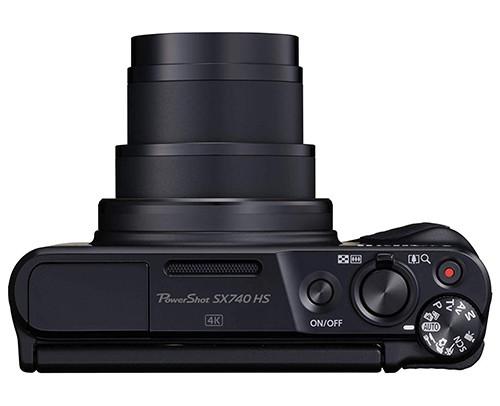 Canon PowerShot SX740 HS obiettivo