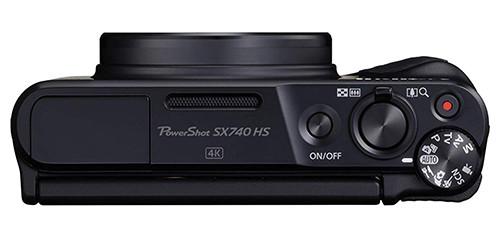 Canon PowerShot SX740 HS top