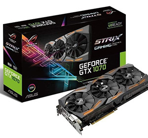 Asus GeForce ROG STRIX GTX 1070