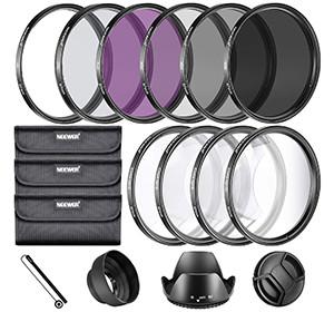 Neewer kit completo di filtri per obiettivo