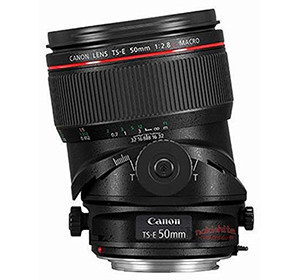 Canon TS-E 50mm f/2.8L Macro Tilt Shift