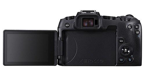 Canon EOS RP display selfie