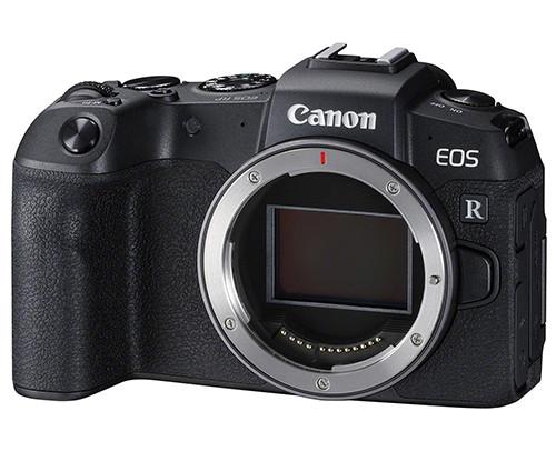 Canon EOS RP fianco