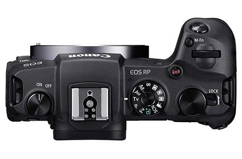 Canon EOS RP top
