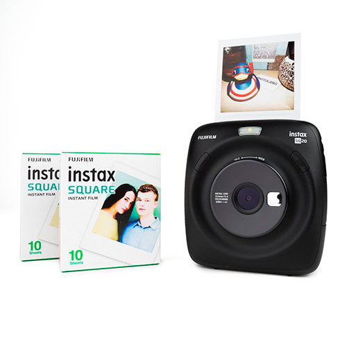 Fujifilm Instax Square SQ20 diapositive
