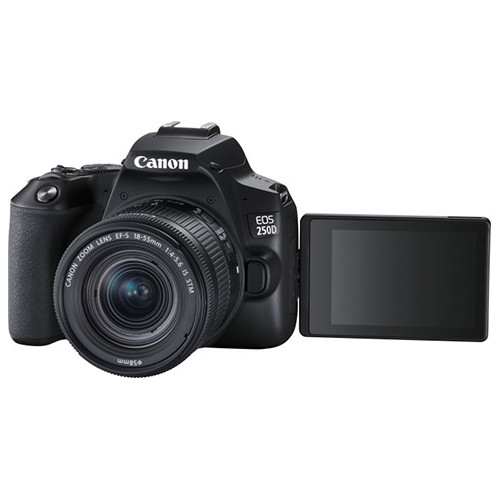 Canon EOS 250D display