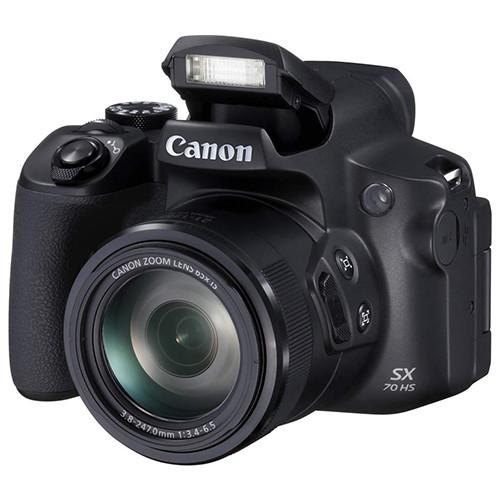 Canon Powershot SX70 HS flash