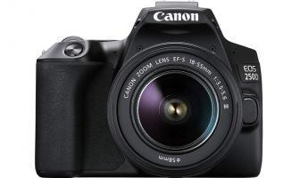 canon eos 250d recensione