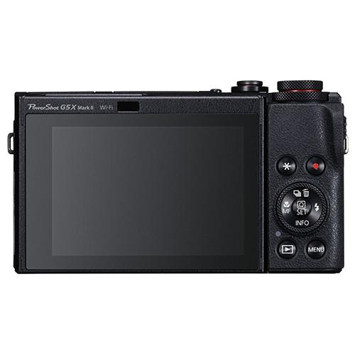 Canon G5 X Mark II controlli