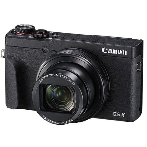 Canon G5 X Mark II fronte