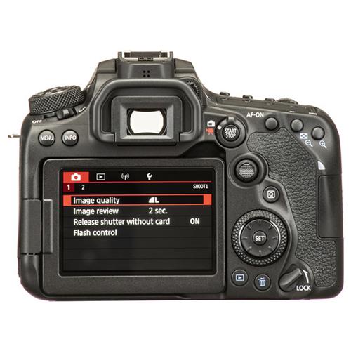 Canon EOS 90D menu