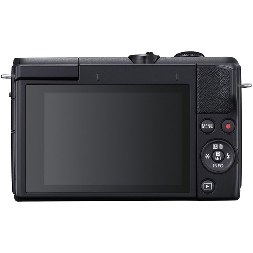 Canon EOS M200 display