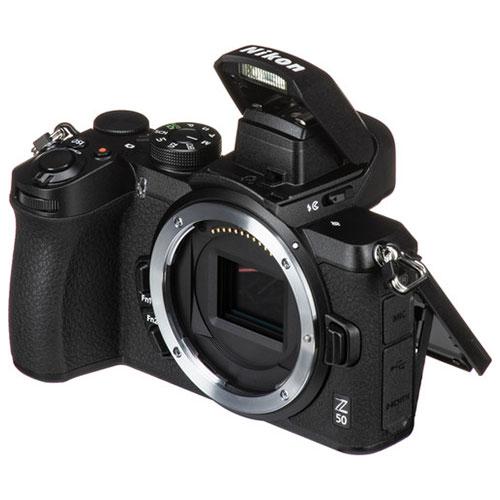 Nikon Z50 flash