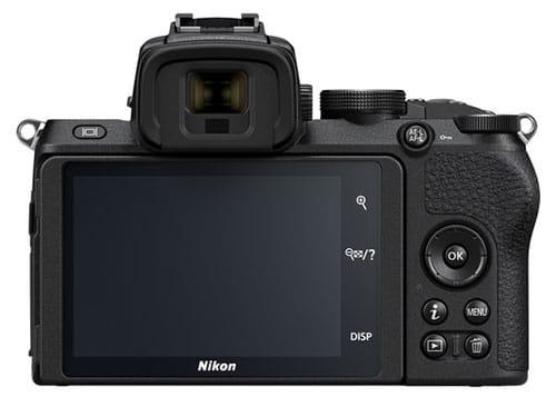 Nikon Z50 pulsanti