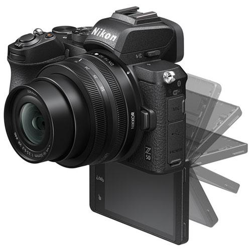 Nikon Z50 selfie