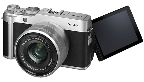 fujifilm x-a7 display