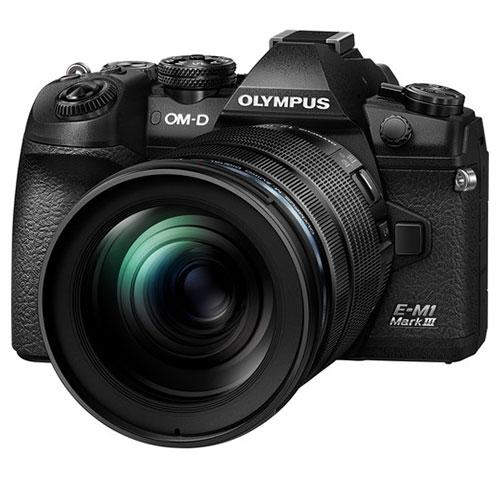 Olympus OM-D E-M1 Mark III obiettivo