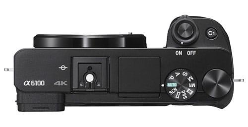 Sony A6100 controlli