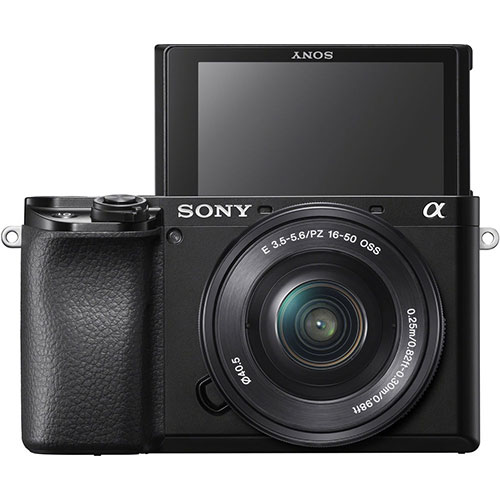 Sony A6100 display