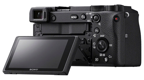 Sony A6600 display