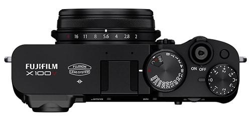 Fujifilm X100V controlli
