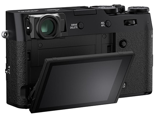Fujifilm X100V display tilt