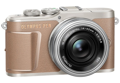 Olympus PEN E-PL10 marrone oro