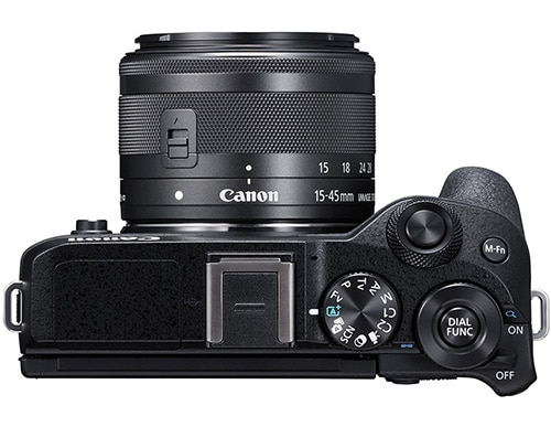 Canon M6 mark II controlli