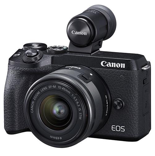 Canon M6 mark II mirino