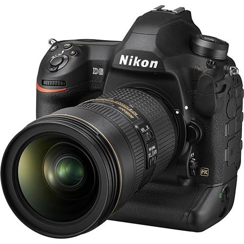Nikon D6 obiettivo