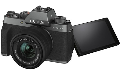 Fujifilm X-T200 display