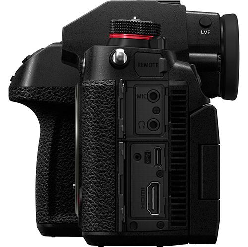 Panasonic S1H connessioni