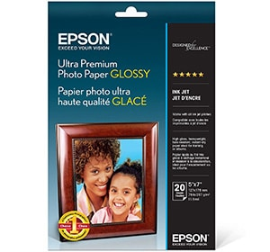 Epson Ultra Premium Photo Paper Glossy 5x7