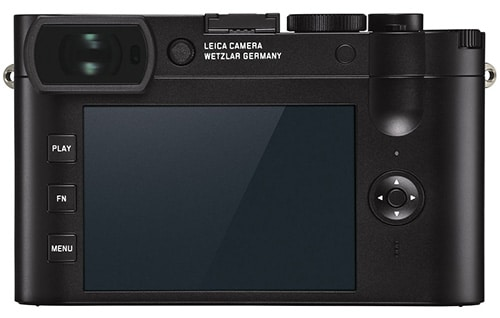 Leica Q2 display