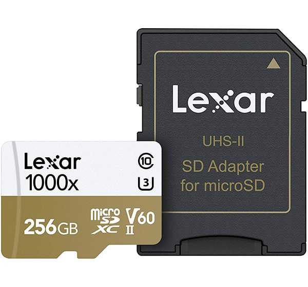 Lexar Professional 1000x microSDXC UHS-II Card