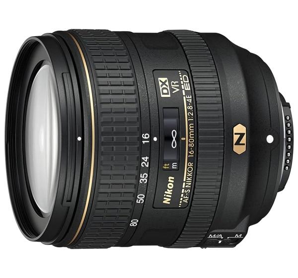 Nikon AF-S DX nikkor 16-80mm f2.8-4E ED VR