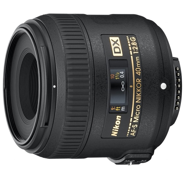 Nikon AF-S Nikkor DX 40mm f2.8G Micro